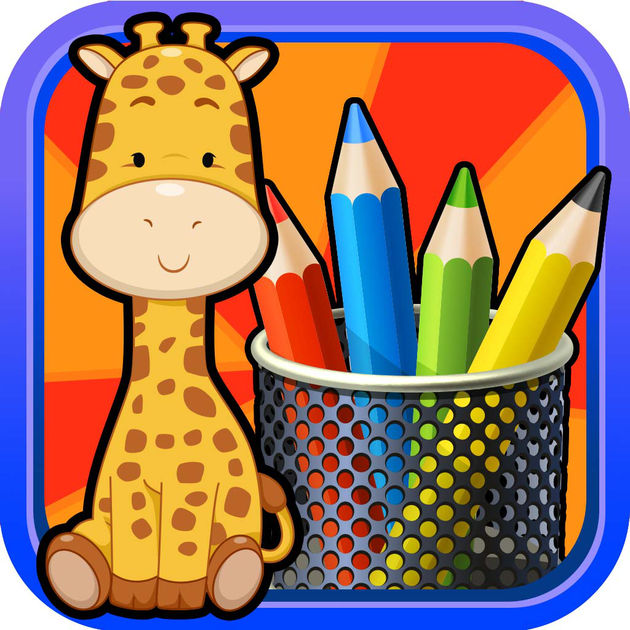 630x630 Kids Doodle Amp Animal Coloring Draw Book