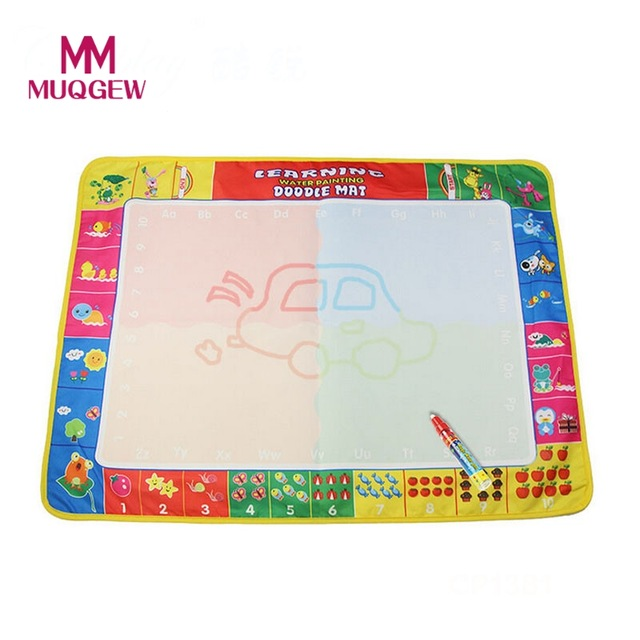 640x640 Kids Four Color Magic Water Drawing Book +1 Magic Pen Doodle Toy