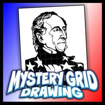 350x350 Mystery Grid Drawing President 10 John Tyler Tpt