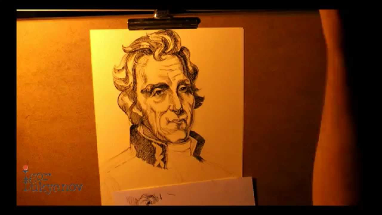 1280x720 Portrait Of Andrew Jackson (The 7th President Of The United States