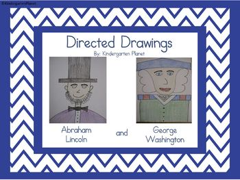 350x263 Presidents' Day Directed Drawing