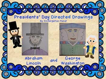 350x263 Presidents' Day Directed Drawing By Kindergarten Planet Tpt