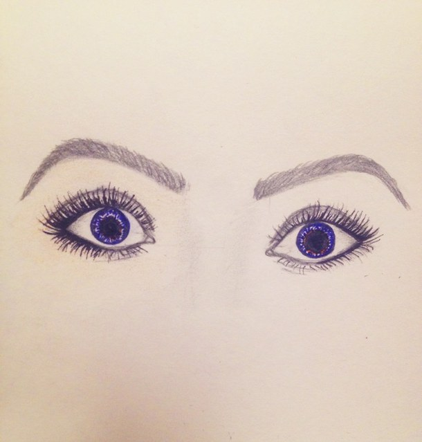 Pretty Eyes Drawing At Getdrawings Com Free For Personal Use