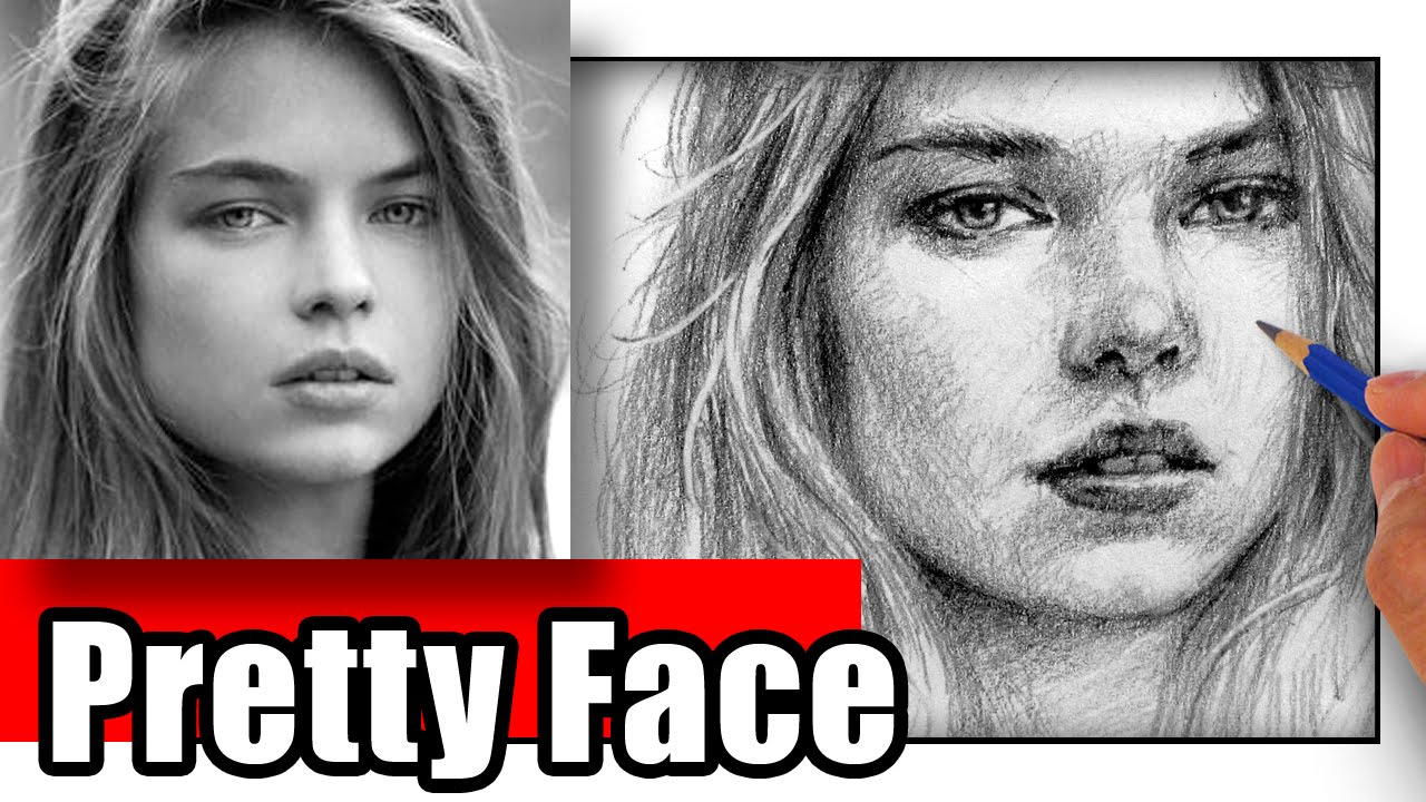 1280x720 How To Draw A Pretty Face