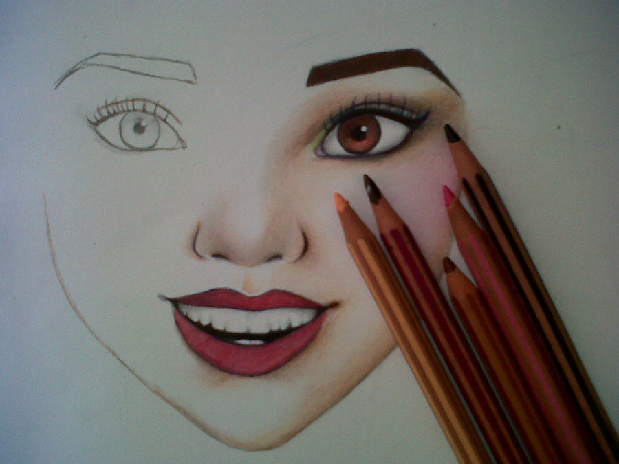 900x675 Pretty Face By Houdakb