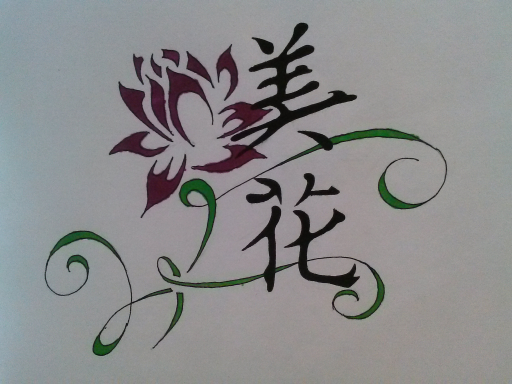 1024x768 Beautiful Flower Drawing Pretty Flower Drawing Easy The Best