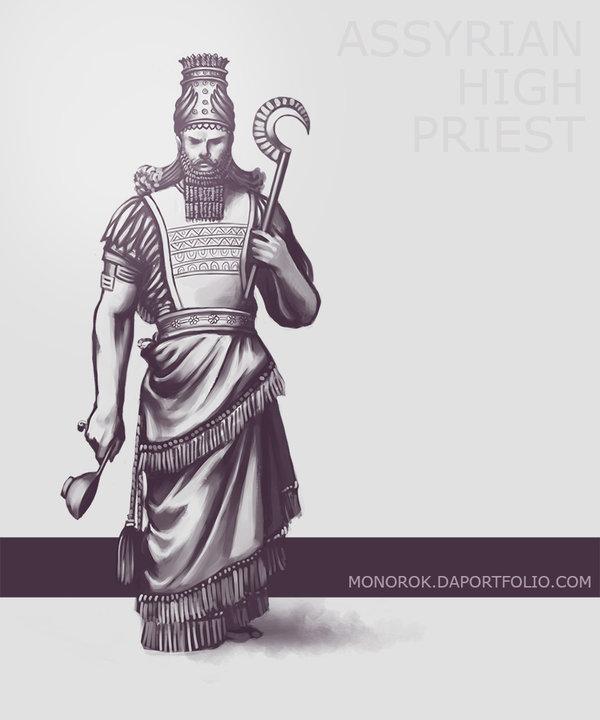 600x720 Assyrian High Priest By Monorok