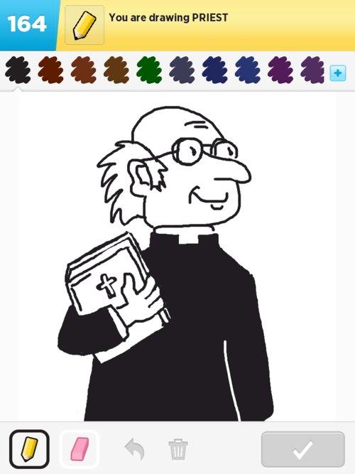 500x667 Priest Drawings