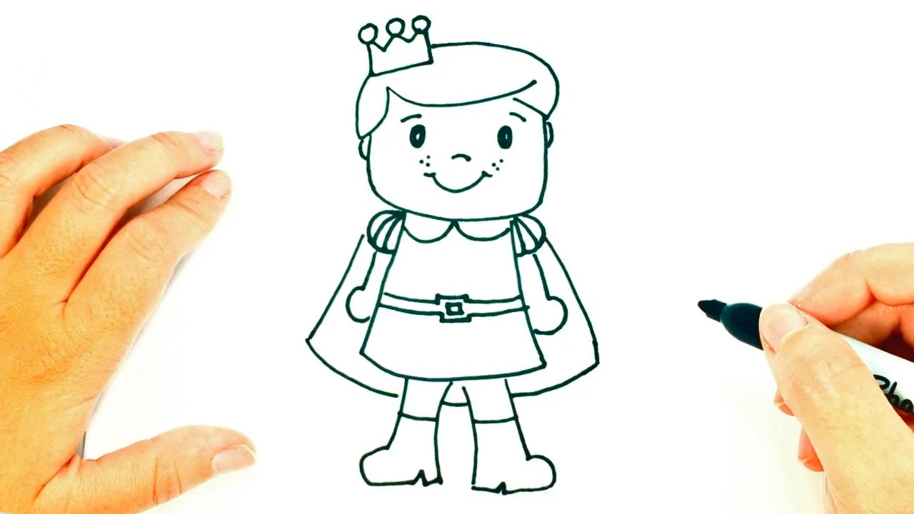 1280x720 How To Draw A Prince Prince Easy Draw Tutorial