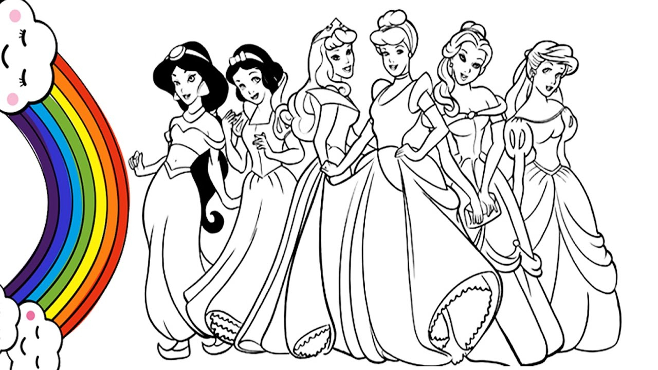 1280x720 Pictures For Drawing Barbie Princes How To Draw Barbie Princess