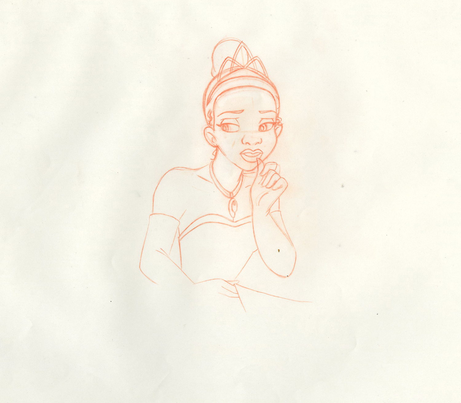 1500x1313 Princess And The Frog Production Drawing
