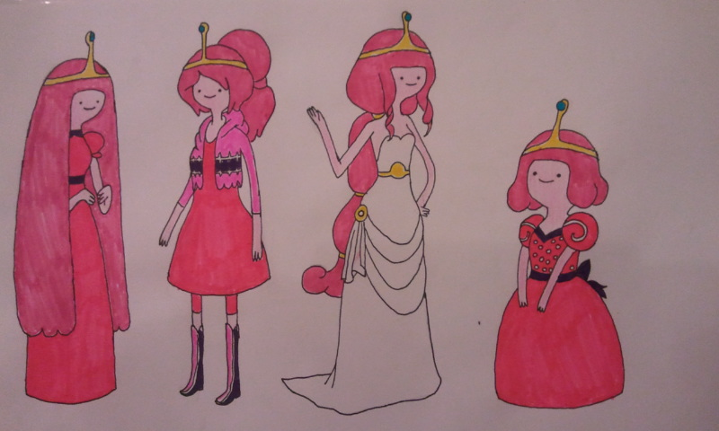 800x480 Adventure Time Princess Bubblegum By Kathryn Nova
