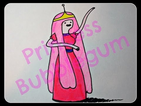 480x360 How To Draw Princess Bubblegum