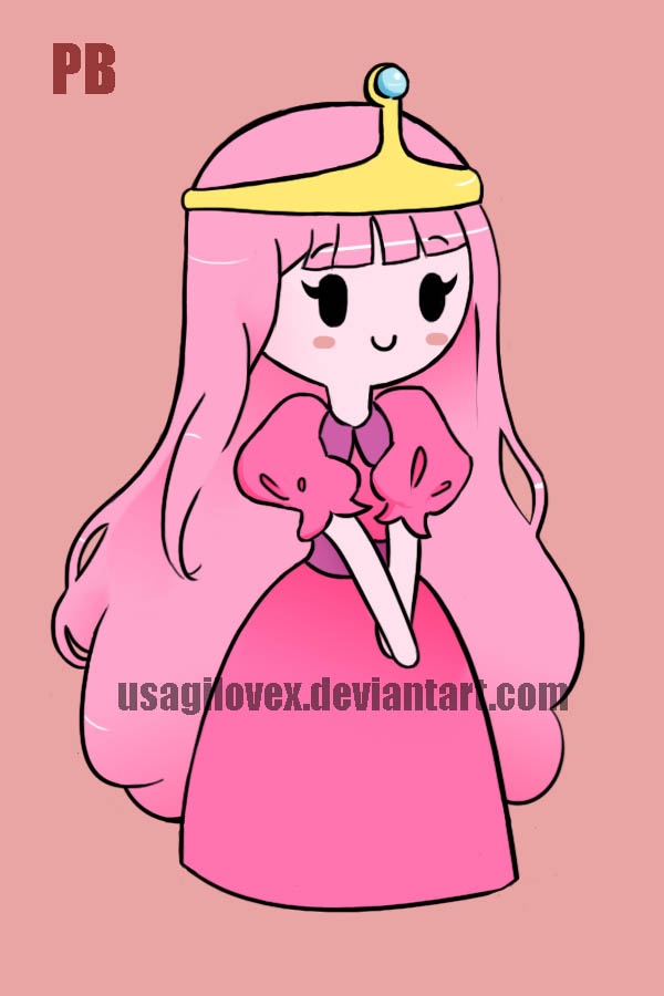 600x900 Princess Bubblegum Keychain By Usagilovex