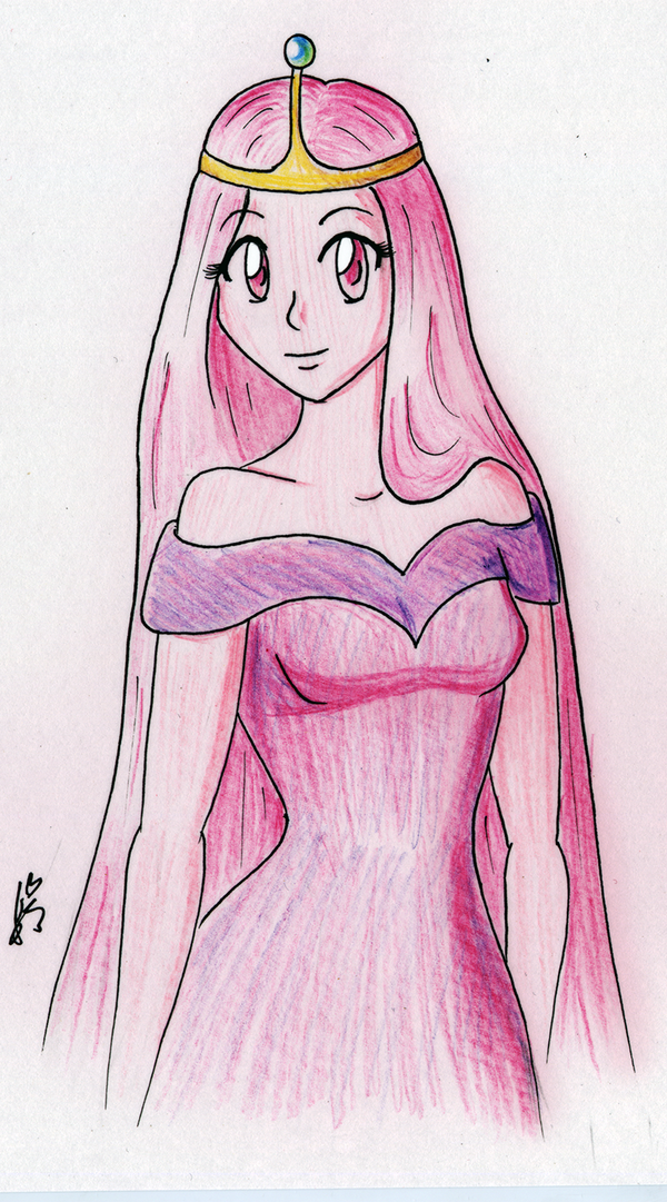 600x1081 Princess Bubblegum By Irisangel131