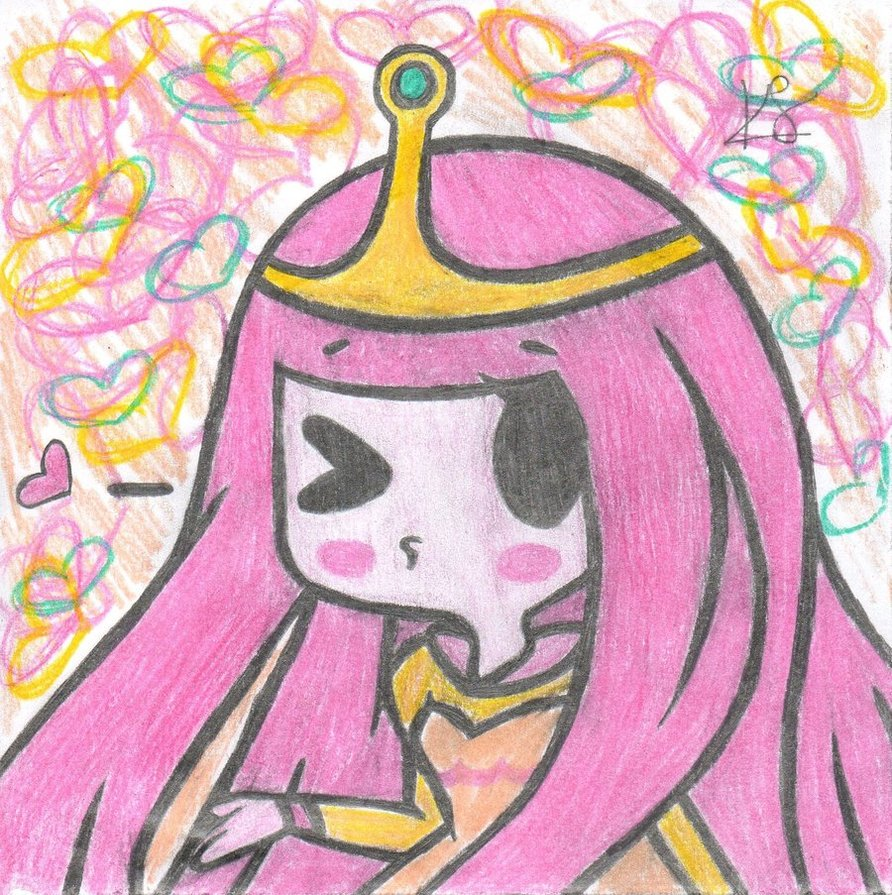 892x895 Princess Bubblegum By Mayaluvschu101
