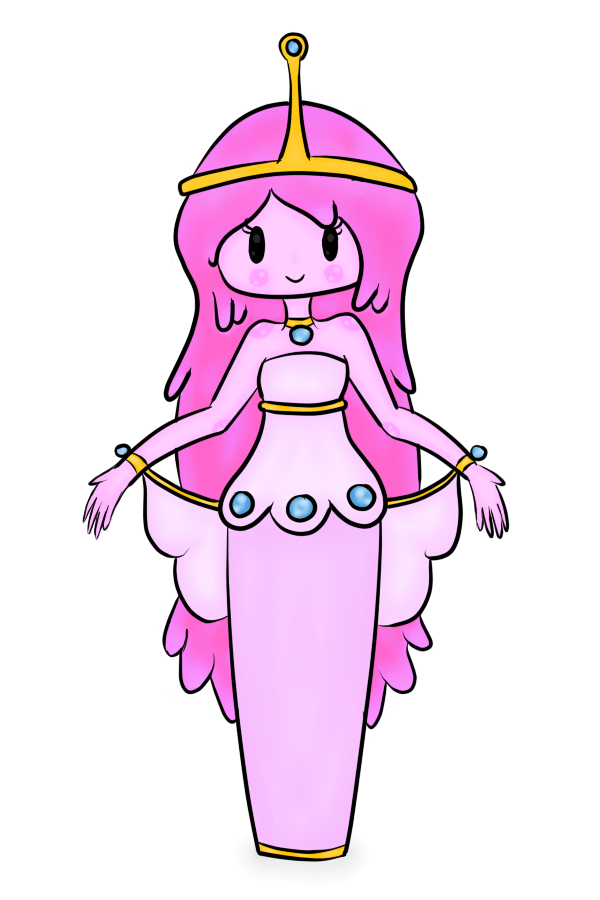 600x900 Princess Bubblegum By Haunted Luck
