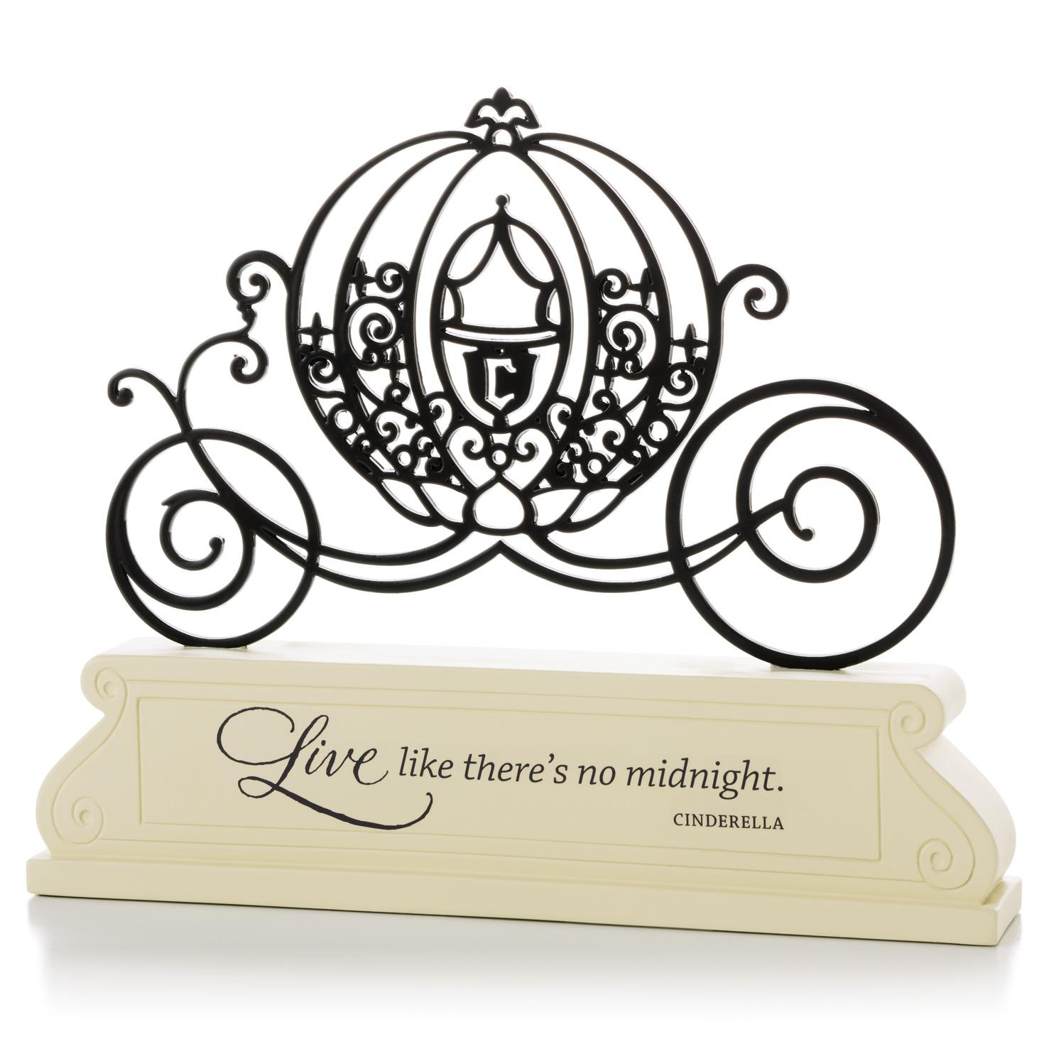 1470x1470 Disney If You Can Dream Small Plaque Cinderella Carriage