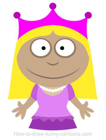 347x461 Drawing A Princess Cartoon