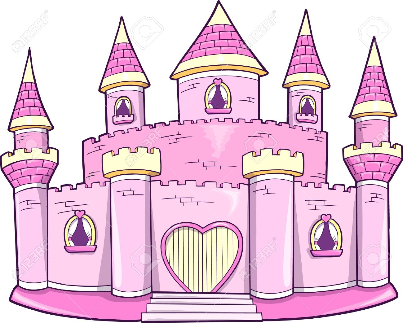 Princess Castle Drawing At Getdrawings Com Free For