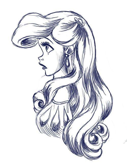 500x651 Gallery Drawing Of Disney Princess,