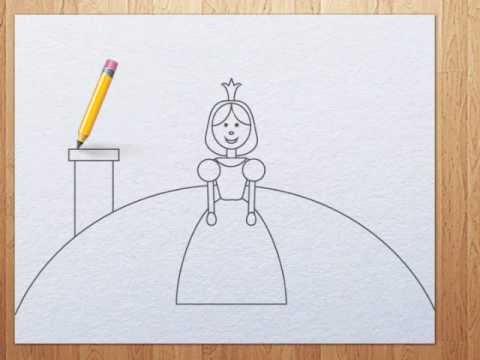 480x360 How To Draw A Princess