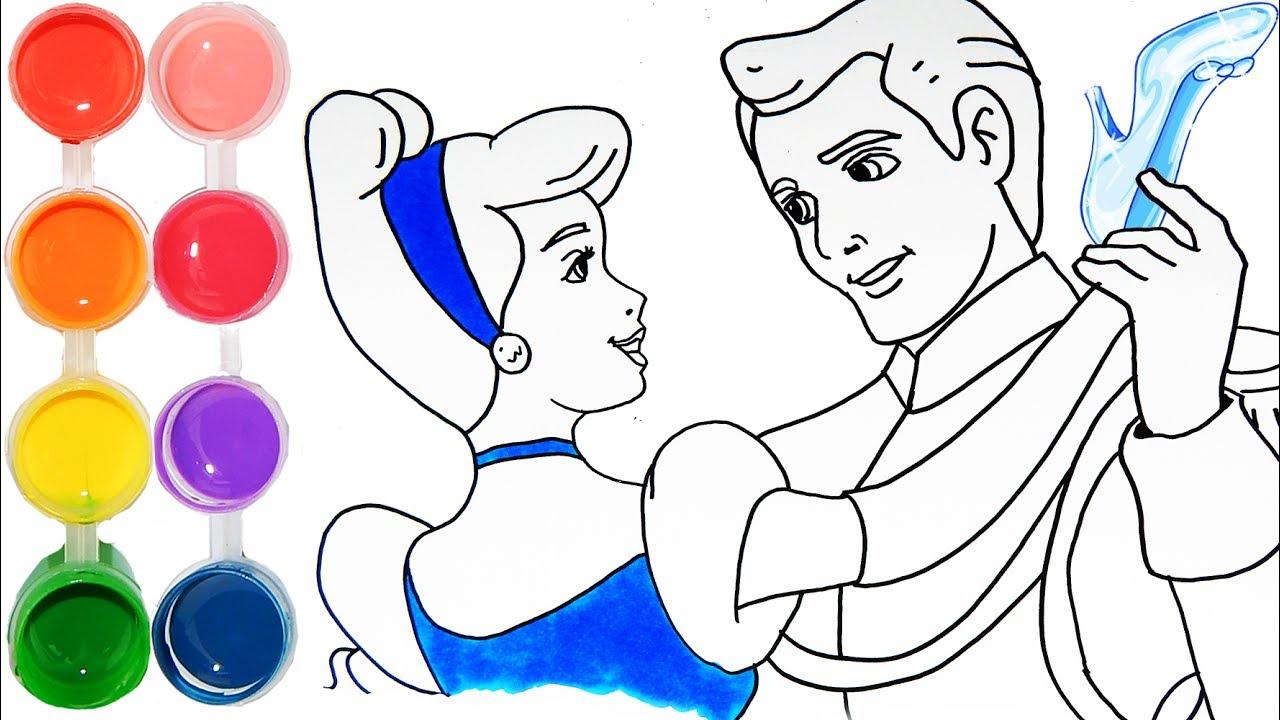 1280x720 How To Draw Amp Color Cinderella Disney Princess Drawing
