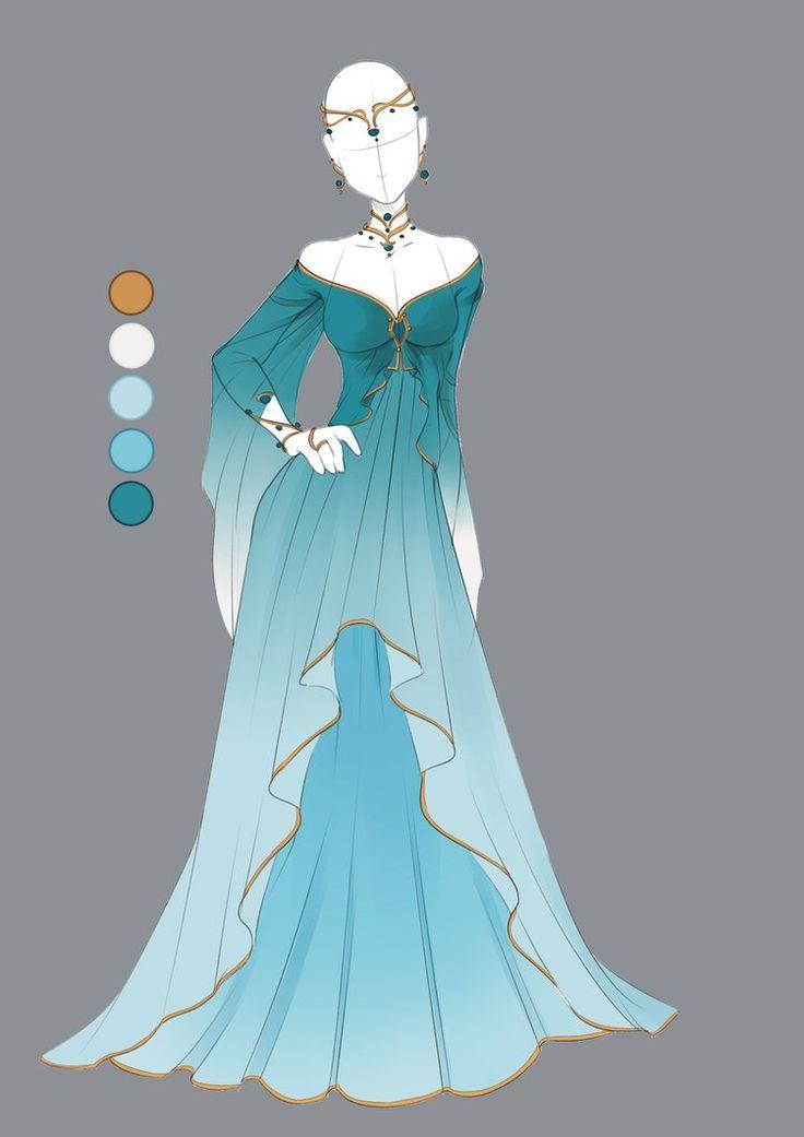 Princess Dress Drawing at GetDrawings.com | Free for personal use ...