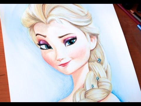480x360 Drawing Princess Elsa Frozen Budget Art