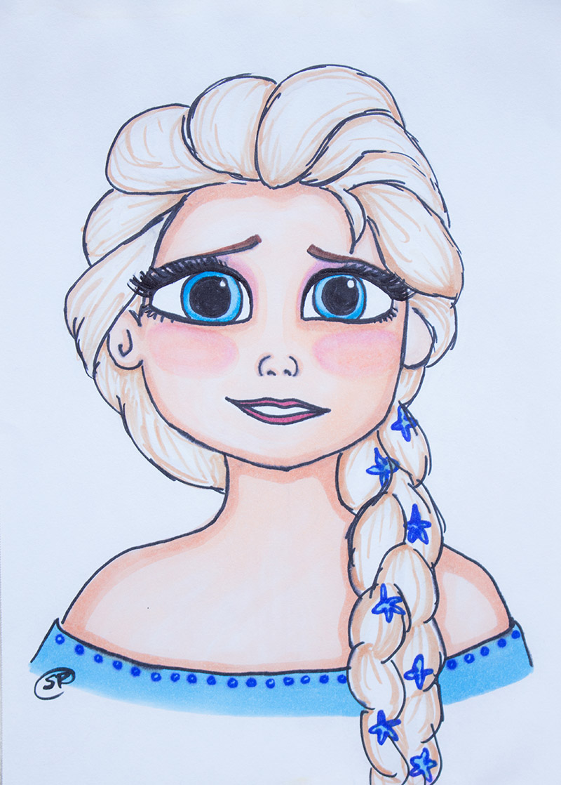 800x1118 Elsa Frozen Disney Snow Queen, Ice Princess Elsa Drawing Available