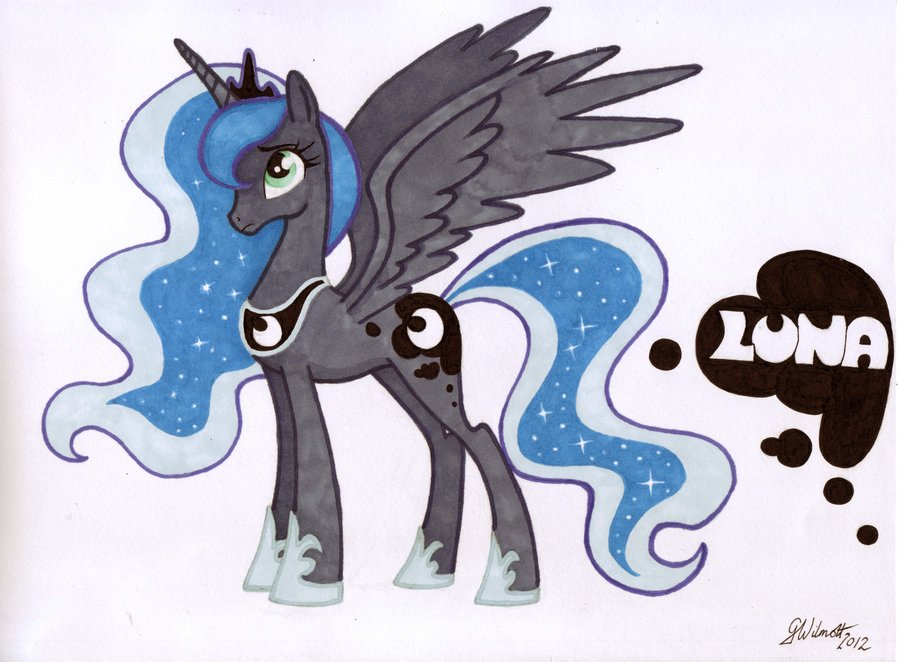 900x662 My Little Pony Friendship Is Magic Princess Luna By