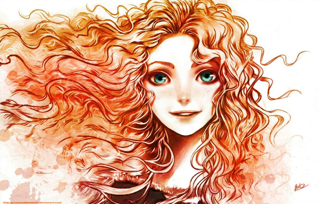 Princess Merida Drawing At Getdrawings Com Free For Personal Use