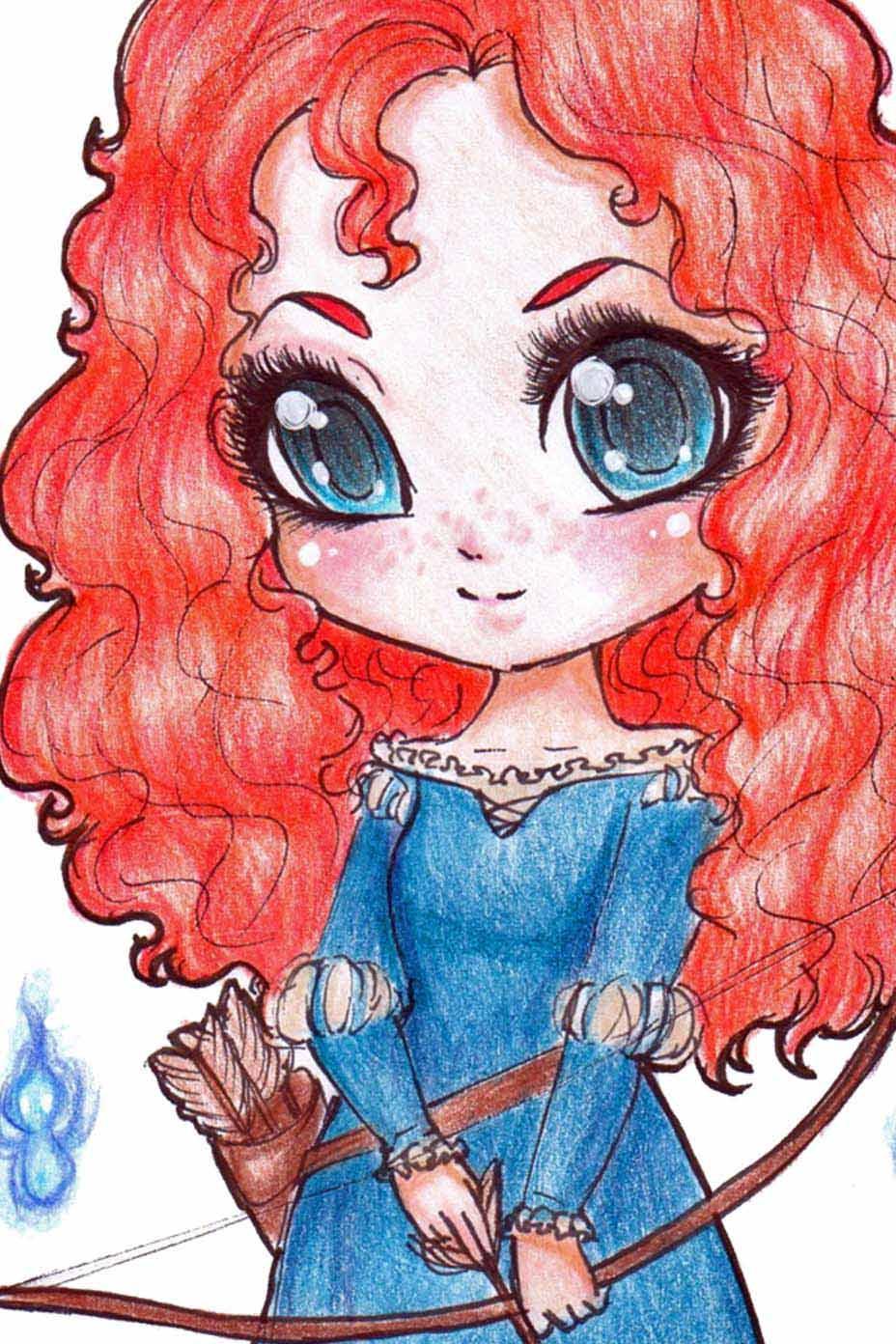 Merida Disney Ausmalbilder : Princess Merida Drawing At Getdrawings Com Free For Personal Use
