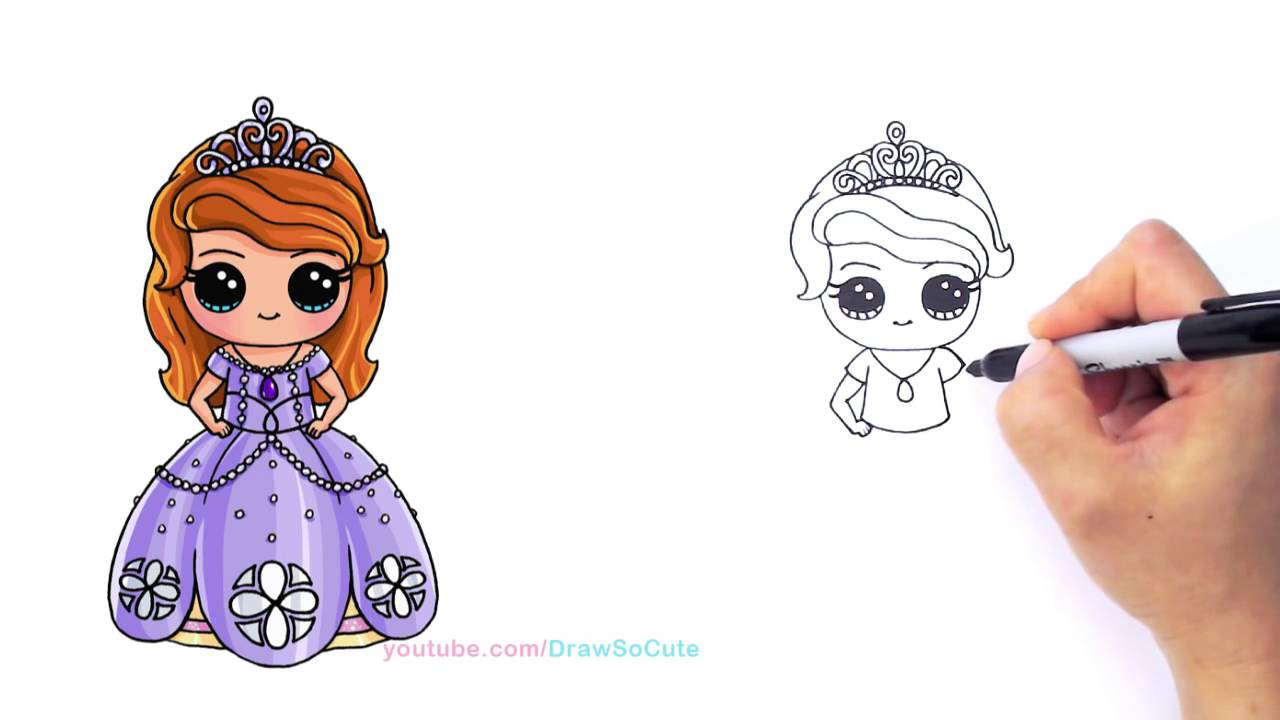 Coloring Pages Disney Sofia : Princess sofia drawing at getdrawings free for personal use