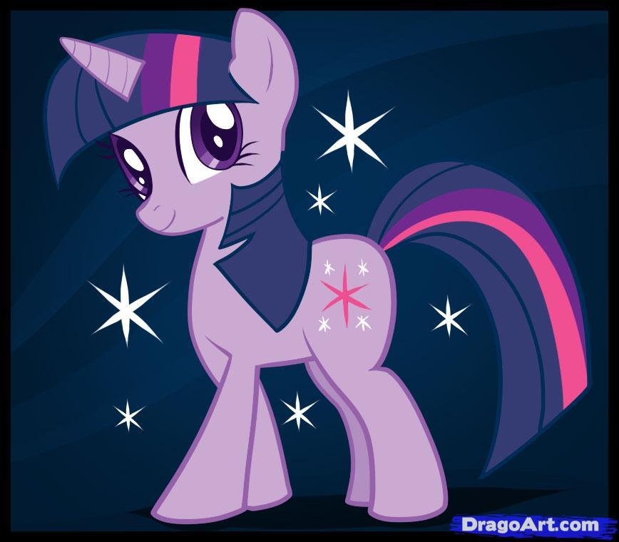 868x760 How To Draw Twilight Sparkle, My Little Pony, Twilight Sparkle