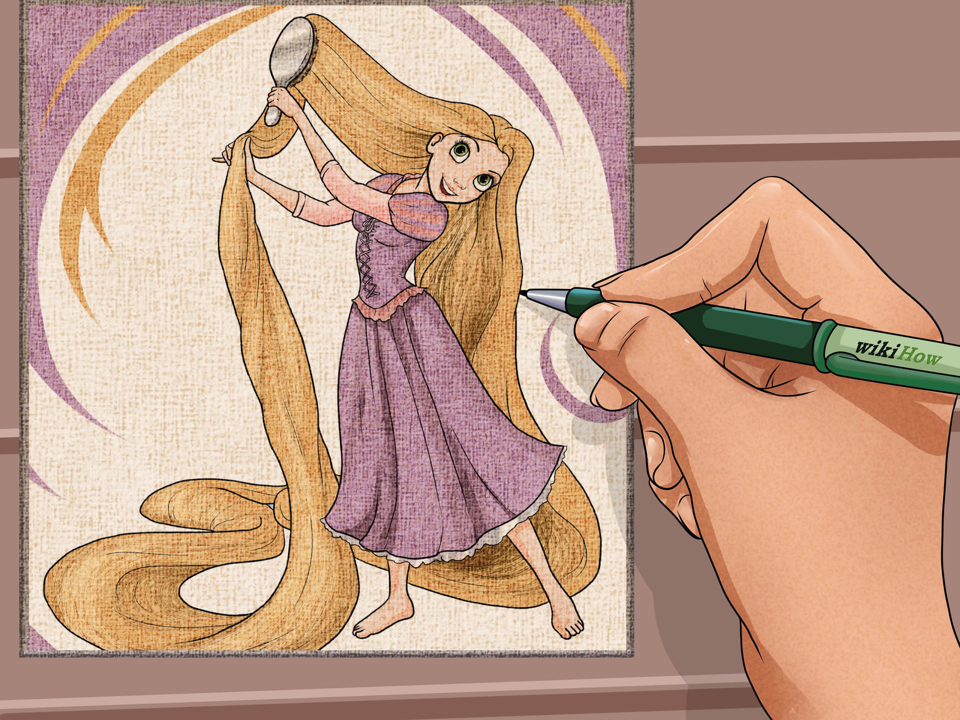 3200x2400 How To Draw Disney Princesses 14 Steps (With Pictures)