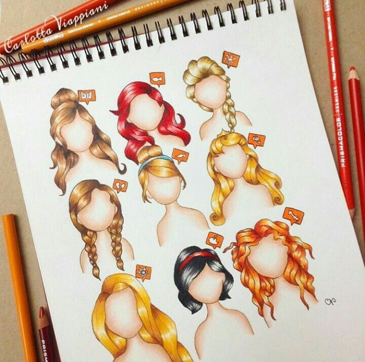 720x714 Instagram Disney Princesses Drawing Art