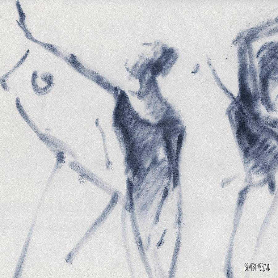 900x900 Ballet Sketch Arm Reaching Out Drawing By Beverly Brown Prints