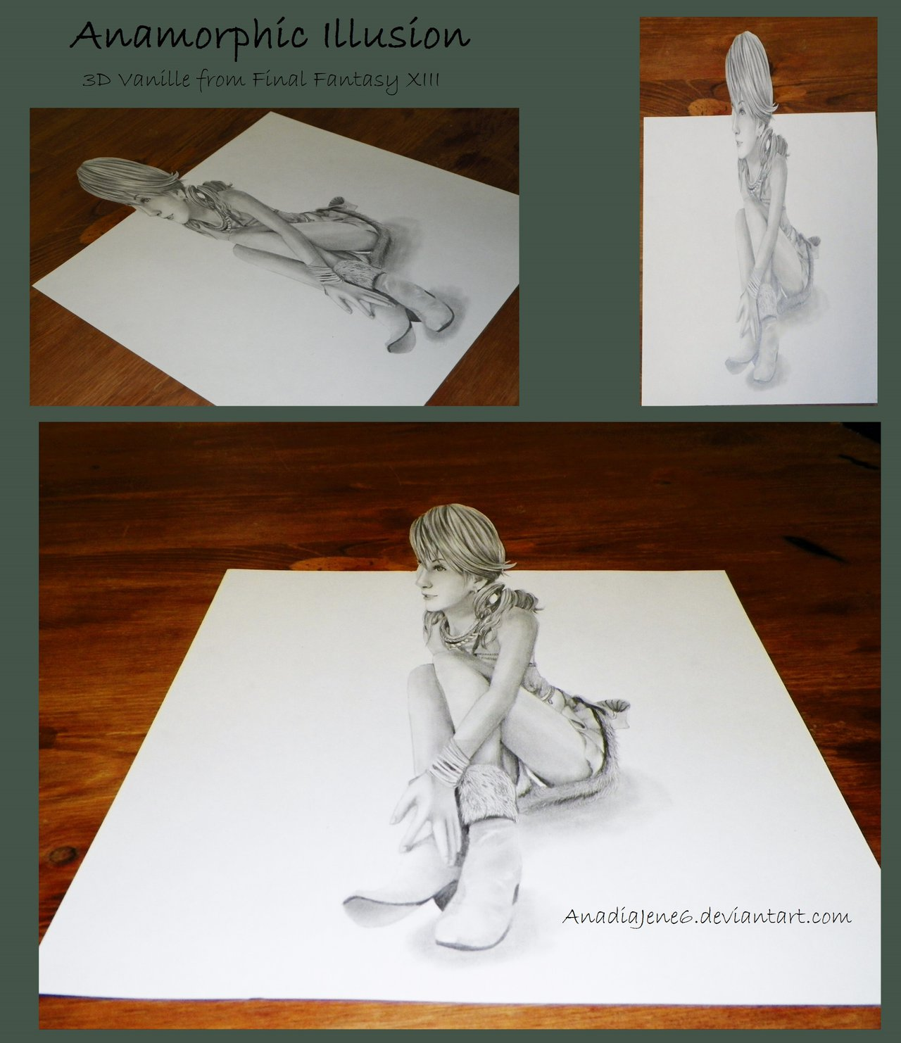 1280x1482 Inspiring Anamorphic Illusion Drawings