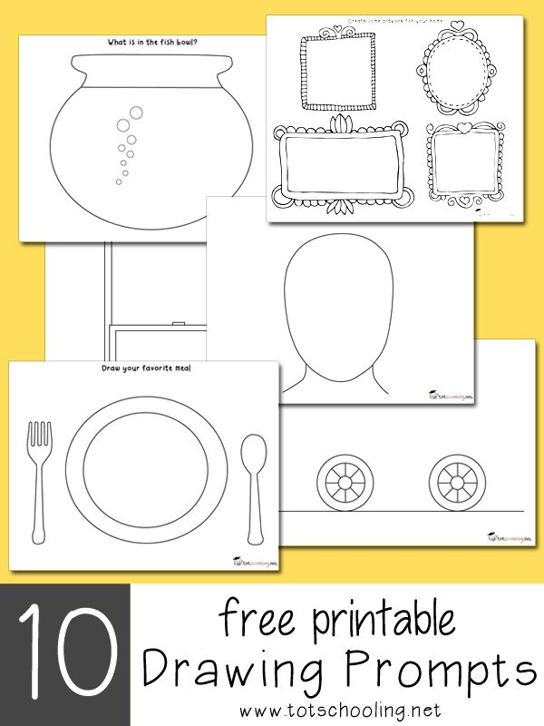 600x800 10 Creative Art Activities Prompts, Free Printable And Free