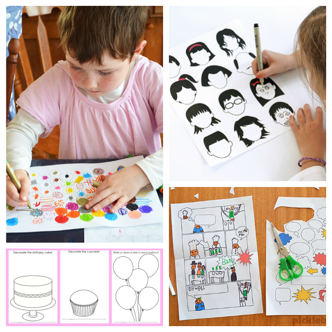 680x680 16 Printable Art Activities For Kids To Encourage Creativity