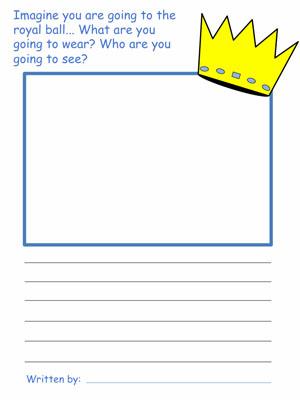 300x400 Cinderella Draw And Write Activities