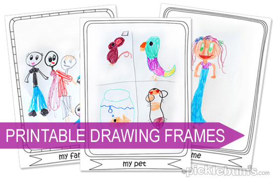 550x360 Drawing Ideas For Kids