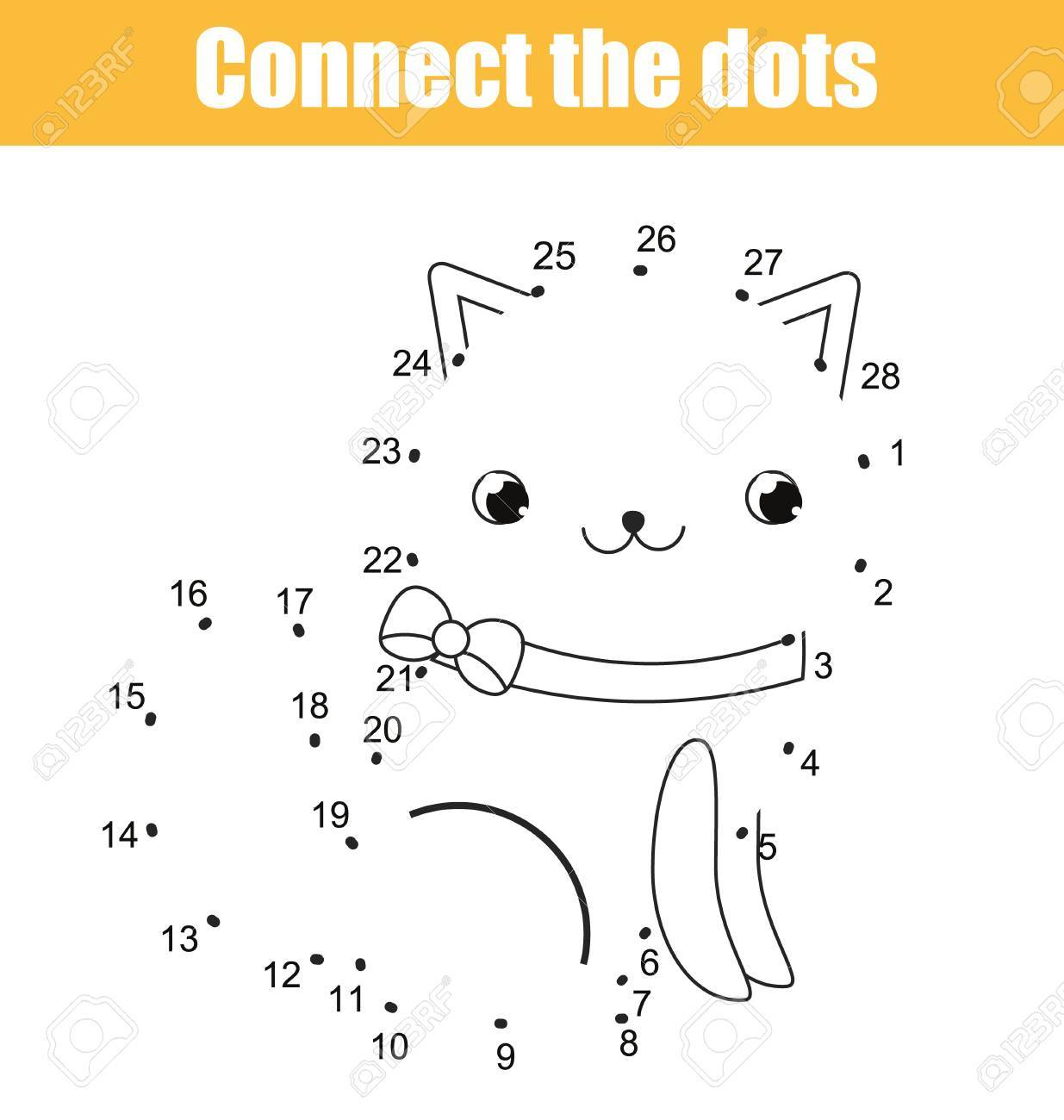 1235x1300 Connect The Dots Children Educational Drawing Game. Dot To Dot