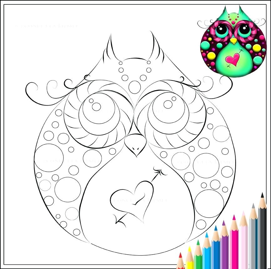 866x859 Owl Printable Coloring Pages