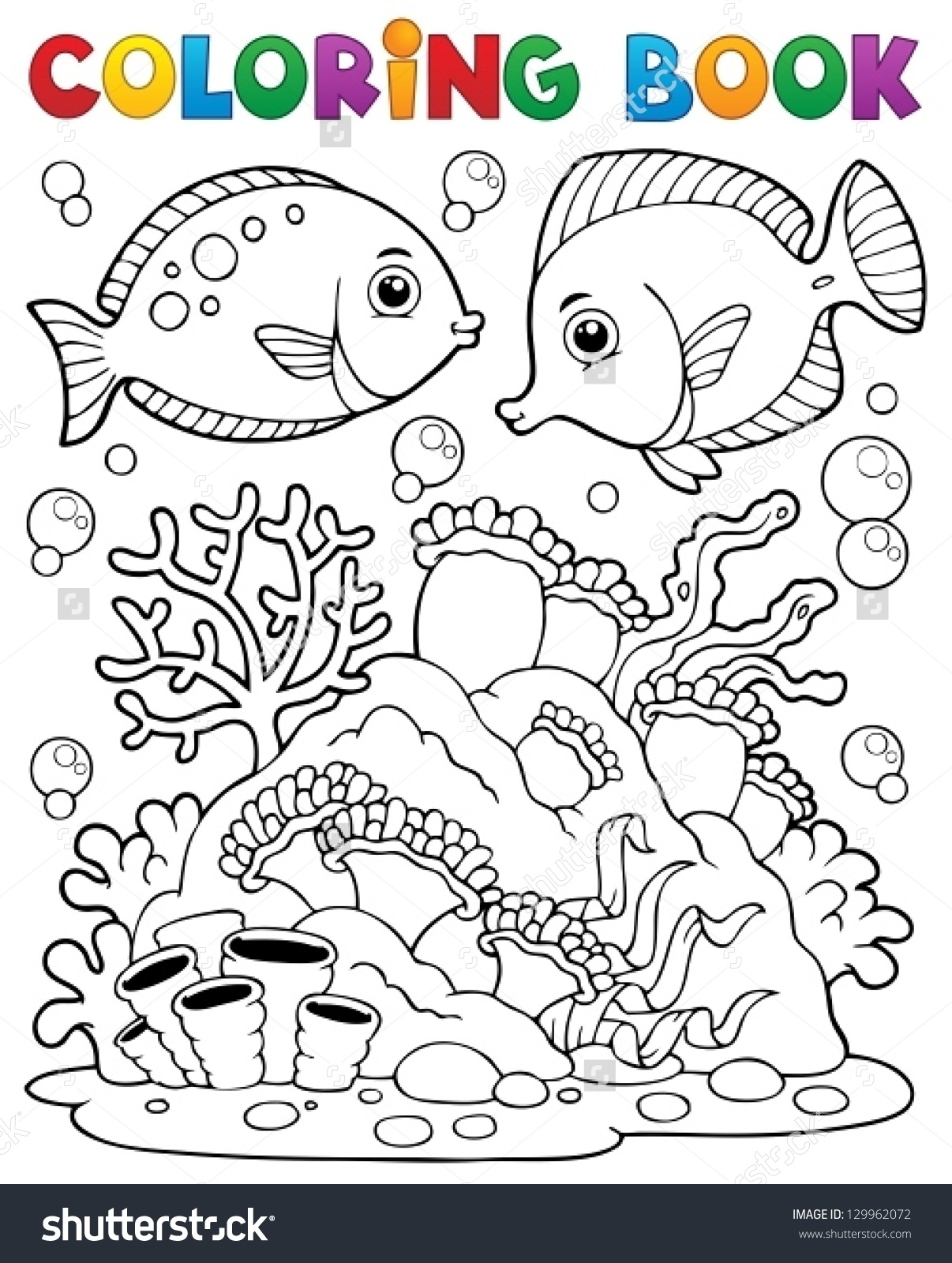 1206x1600 Awesome Drawing Coral Reef Coloring Page With Coral Reef Coloring