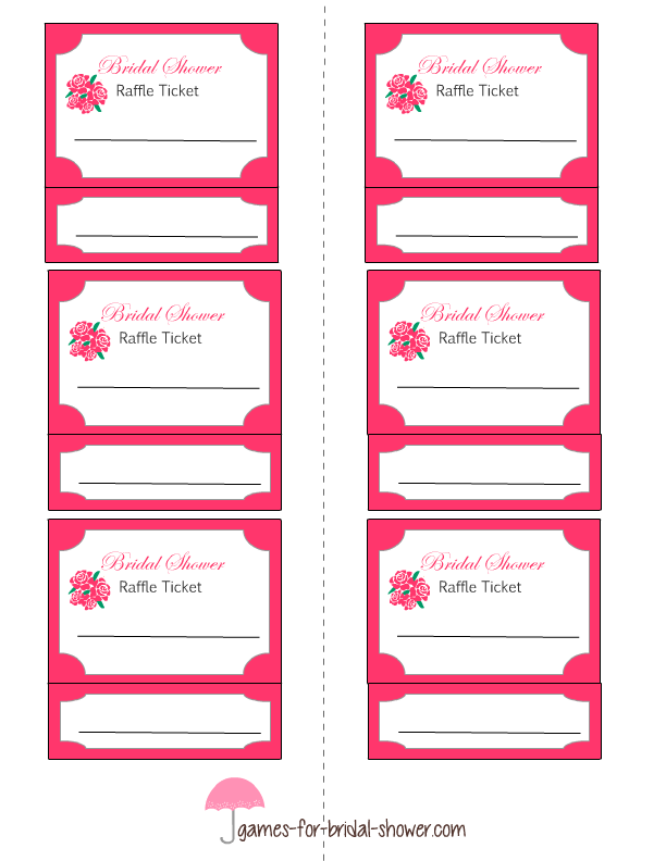 Raffle Draw Ticket Template Printable Drawing Tickets At Getdrawings Com Free For Personal Use