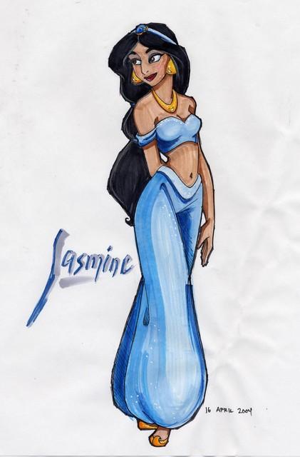 421x640 Drew Graham's Gallery Aladdin Jasmine
