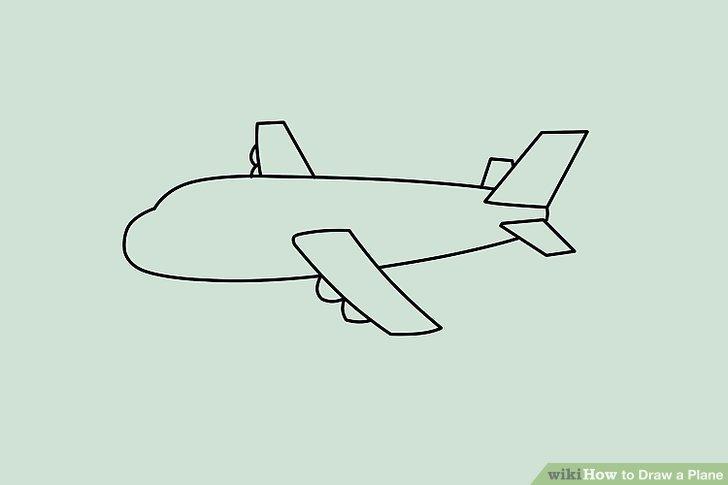 728x485 4 Ways To Draw A Plane