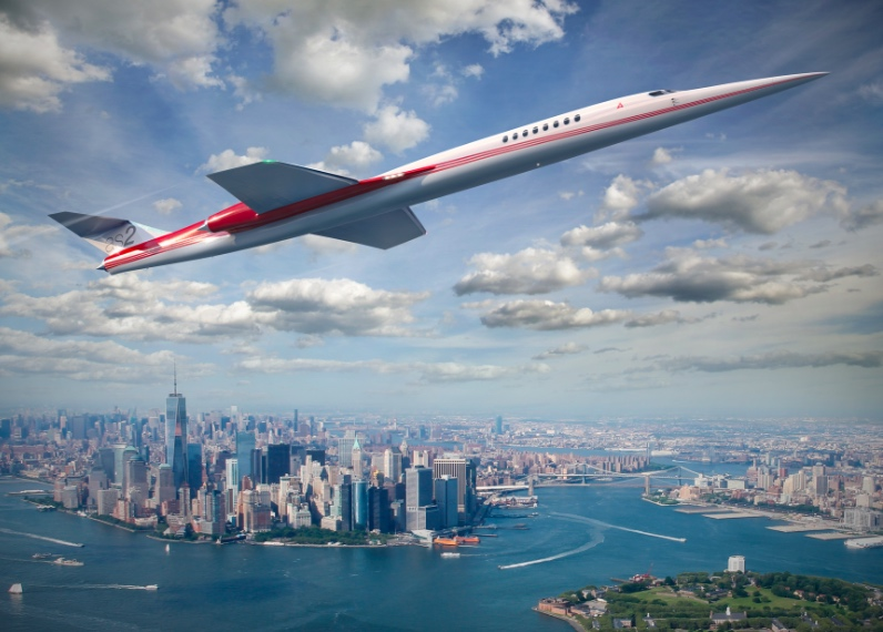 796x570 The World's First Supersonic Private Jet Just Landed Its First